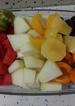 Desayuno de frutas