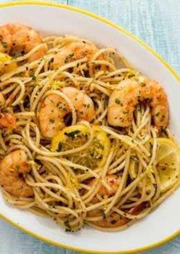 Pasta con camarone ajo 35 recetas caseras cookpad for Espaguetis con ajo y perejil