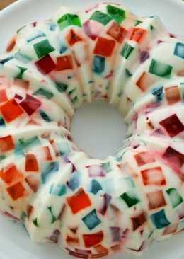 Gelatina de mosaico - 24 recetas caseras - Cookpad