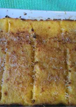 Cuadraditos de polenta (apto celiacos y muy rápido)