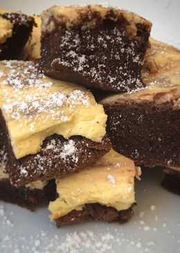 Brownie cheesecake 8° cumplemes de Mateo 👶🏼🥧🍫