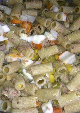 Ensalada de pasta integral 21 recetas caseras cookpad for Ensalada de pasta integral