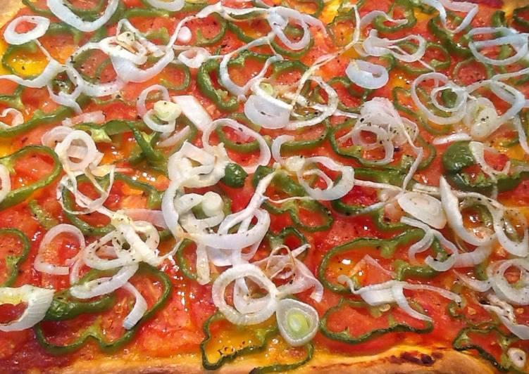 Resultado de imagen para pizza pimientos y queso
