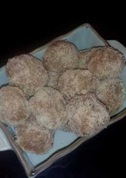 Croquetas dulces de sémola de arroz