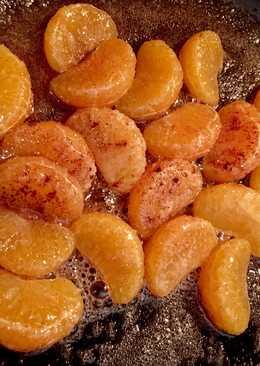 Mandarinas caramelizadas - receta fácil 5 minutos