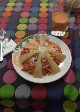 Macarrones a los 4 quesos
