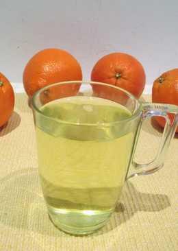 Infusión de cáscara de naranja para la digestión
