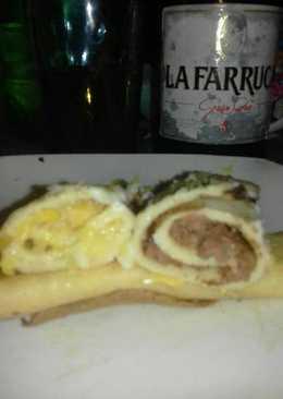 Canelones de choclo 😋 Canelones de carne (en lata, pan de carne)😊