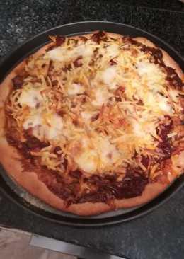 Pizza domino especiada