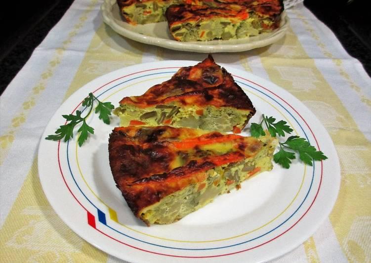 Pud n de br coli y jud as verdes con queso mozzarella for Cocinar judias verdes de bote
