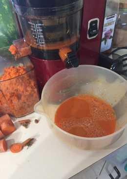 Extracto de Zanahoria, cúrcuma y jengibre