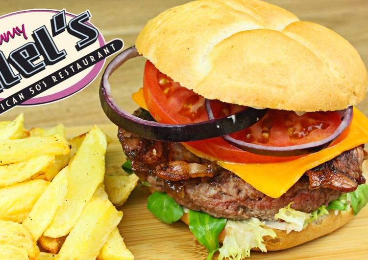Como Hacer la Hamburguesa estilo Tommy Mel`s Receta de La Cocina Del ...