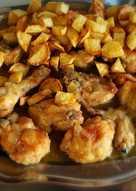 Pollo al appletiser (o trina de manzana con gas)