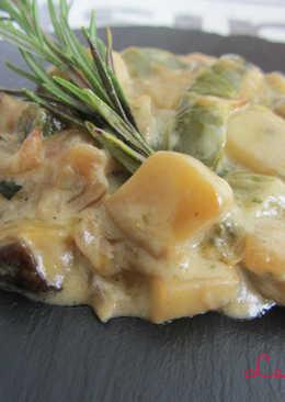 Boletus con queso