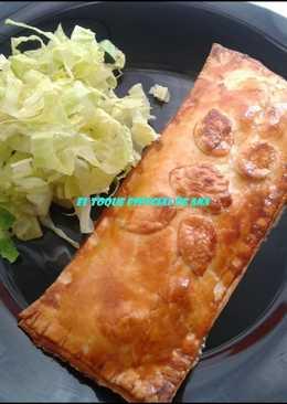Empanada rellenas con frutos del mar