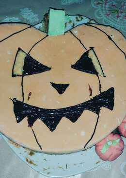 Bizcocho de calabaza de Halloween