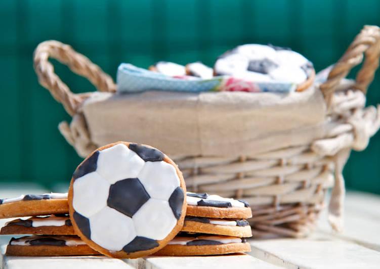 Galletas Glasa Balón De Futbol Receta De Sofía Llorián