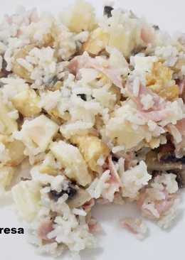 Ensalada de arroz sin gluten