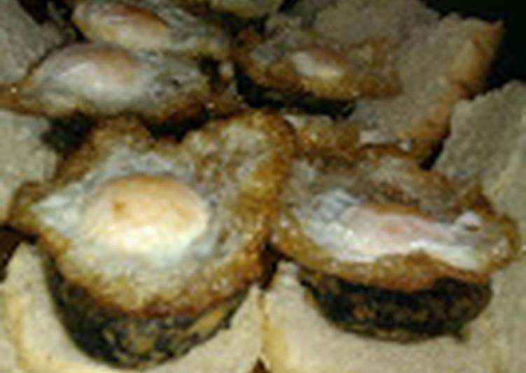 Mini-Hamburguesas de Morcilla Coronadas