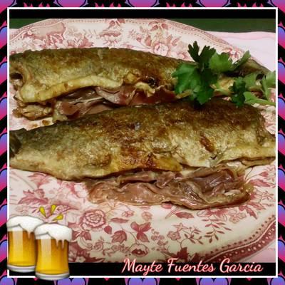 Truchas a la Navarra