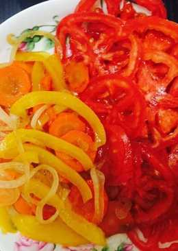 Ensalada de Zanahorias con Tomates