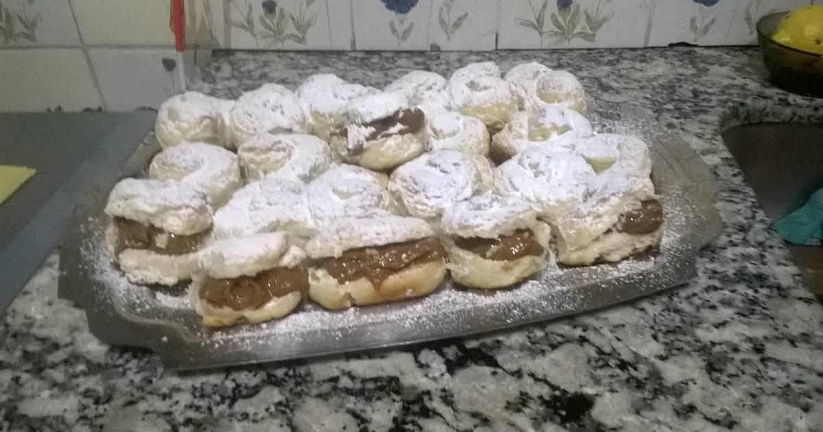 Pan de leche receta de maria del carmen flores cookpad for Cocinar 180 grados