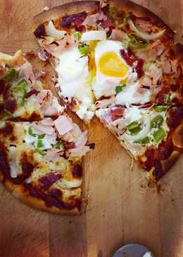 Pizza de colores