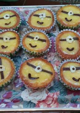 Cupcakes de minions recetas caseras Cookpad
