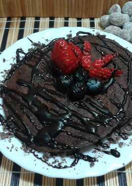Tortitas de chocolate light
