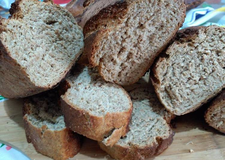 Pan casero en horno de le a con harina ya preparada - Hacer pan horno de lena ...