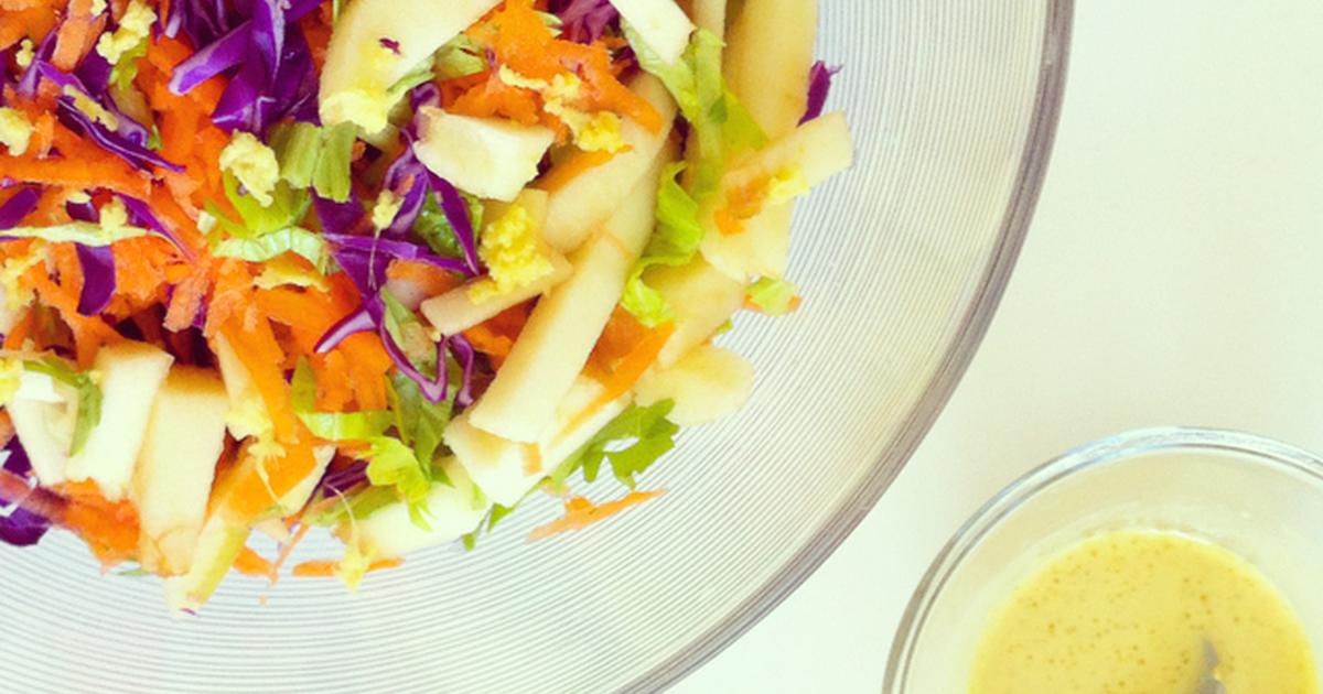 Ensalada despeinada receta de natalia cookpad - Ensalada de apio y zanahoria ...