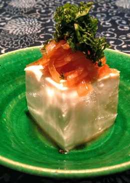 Aderezo agridulce de Cebolla con tofu