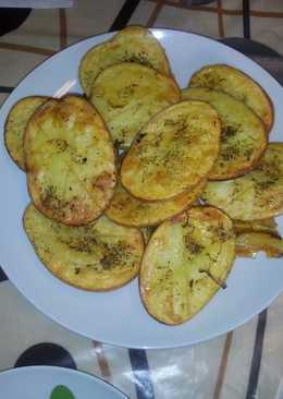 Patatas al horno y patata Hasselblack