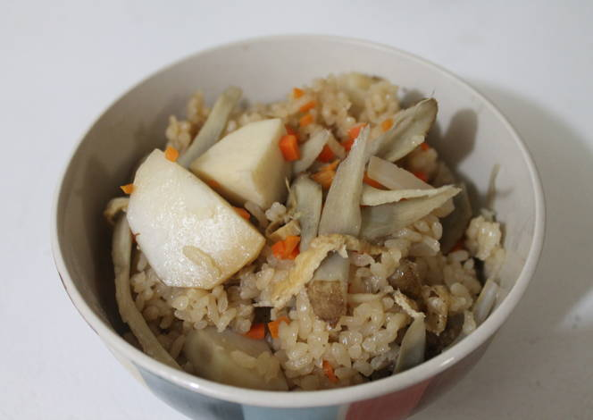 Kayaku gohan receta de shinta arata cookpad for Cocinar konjac