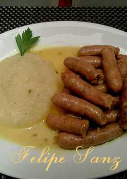 Salchicha de cerdo recetas caseras cookpad - Salchichas frescas en salsa ...