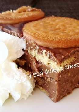 Tarta crema de chocolate