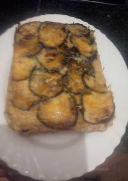 pastel de berenjenas jamon york y queso