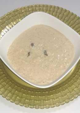 Arroz con leche de coco jengibre y canela