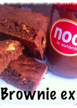 Brownie de Nocilla