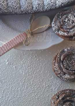 Bizcocho de chocolate sin gluten (sólo 3 ingredientes)