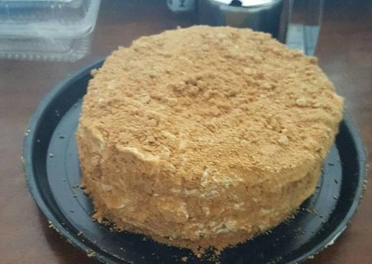 Cocina Rusa Recetas | Medovik Tarta De Miel Rusa Receta De Ileana Reyes Cookpad