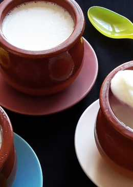Yogur natural (sin yogurtera)
