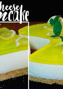 Tarta de queso y limón tipo mousse (SIN HORNO)