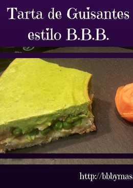 Tarta de Guisantes, estilo B.B.B.
