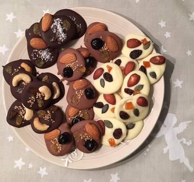 Dulces de chocolates