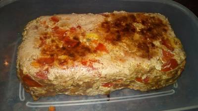Pan de carne en molde