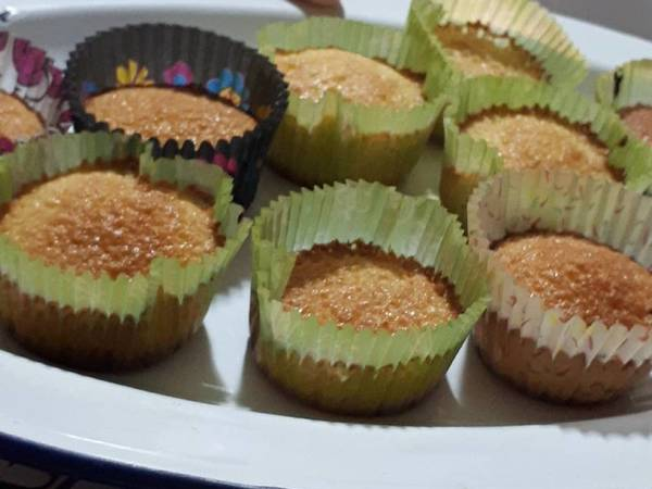 Cupcakes de limón sin gluten