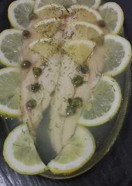 Trucha en Aspic