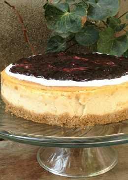 Riquísimo Cheesecake (pastel de queso)