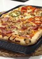 Masa para pizza italiana (con robot de cocina)